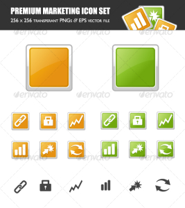 Premium Marketing Icon Set