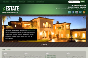 Real Estate Joomla 3.0 Template
