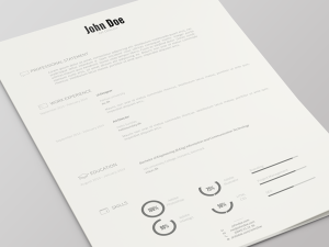 Resume-Template-PSD-Version-2