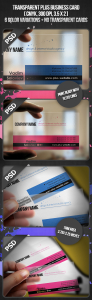 Transparent Plus Business Card