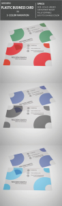 Transperant Plastic Business Card 19