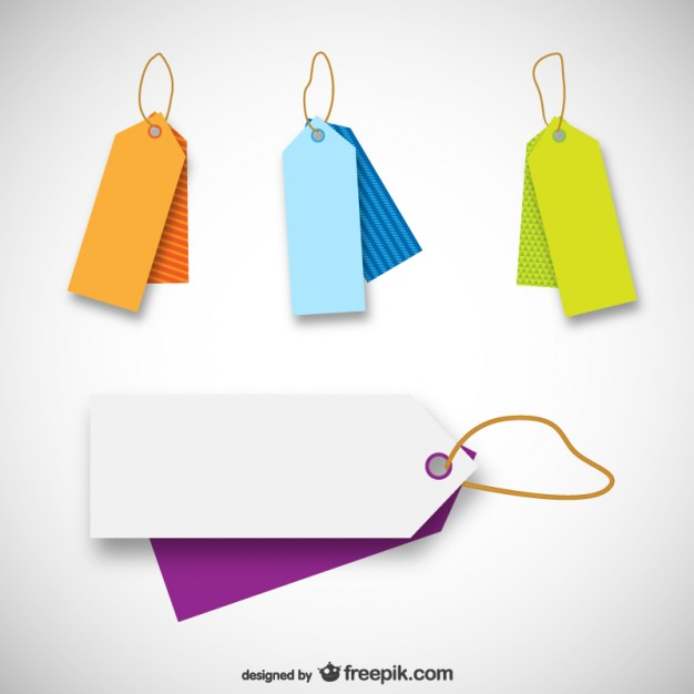 20 free price tag vectors design blog for Template for price tags