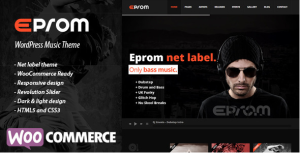 EPROM - WordPress Music Theme