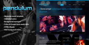 PENDULUM – Premium WordPress Theme