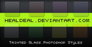 Tainted Glass Styles for PS