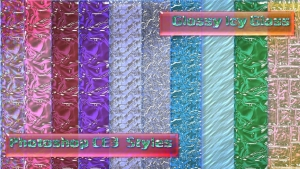 Vv Glossy Icy Glass Styles