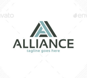 Alliance Logo Letter A