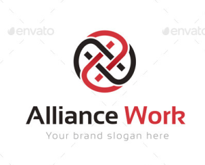 Alliance Work Logo Template