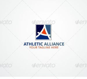 Athletic Alliance - Letter A Logo Template