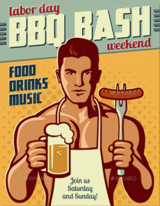 BBQ Party: Event Poster or Flyer