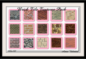 Brick Tile Textures Pack