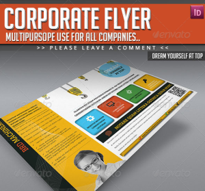 Corporate Flyer - Dream Yourself at Top