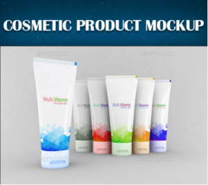 Cosmetic Product Mockup