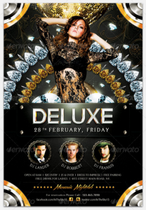Deluxe Nightclub Flyer Template17