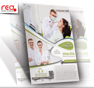 Dental Clinic Flyer & Poster Template