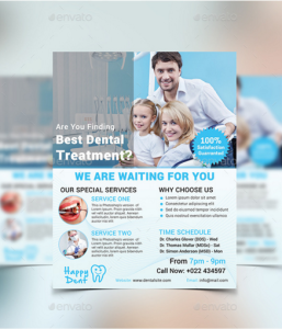 20 Dentist Clinic Flyer Templates – Design Blog