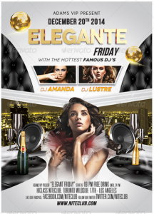 Elegante Nightclub Flyer