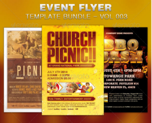 Event Flyer Template Bundle-Vol 003