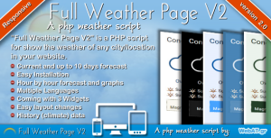 Full Weather Page V2