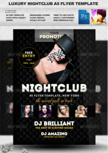 Luxury Nightclub Flyer Template19