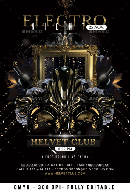 20 Cool Nightclub Flyer Templates Design Blog – Night Club Flyer