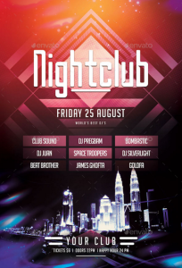 Nightclub Flyer4