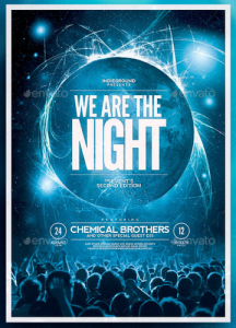 Nightclub Flyer:Poster