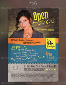 Open House Flyer Template 5