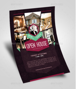 Open House Real Estate Promotion Flyer V1