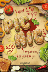 Picnic Barbecue Flyer