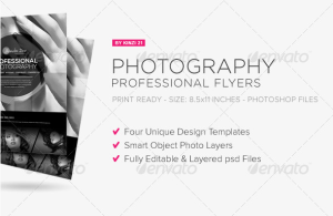 Professional Photography Flyers