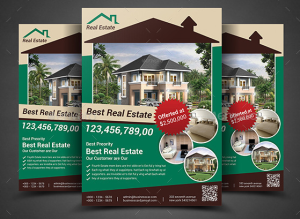 Real Estate Flyer Bundle Template