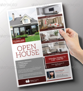 Real Estate : Open House Flyer