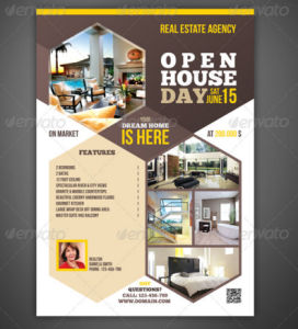 Real Estate - Open House Flyer : Magazine AD