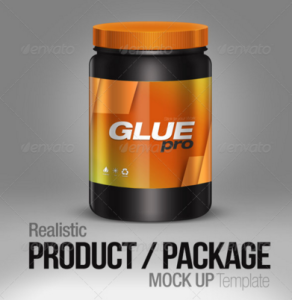 Realistic Product : Package Mock up