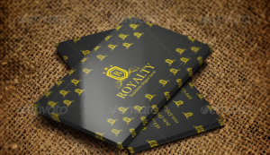 Royalty Elegant Business Card