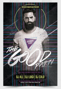 The Good Party Flyer Template