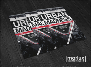 Urban Madness Party Flyer