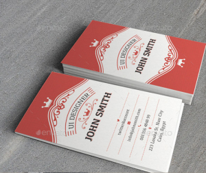 Vintage II Business Card Template