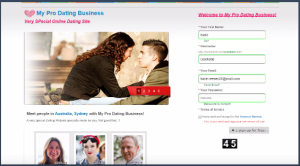 Php dating site template