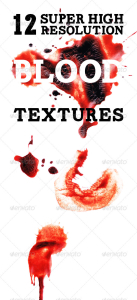 12 Super High Resolution Blood Textures
