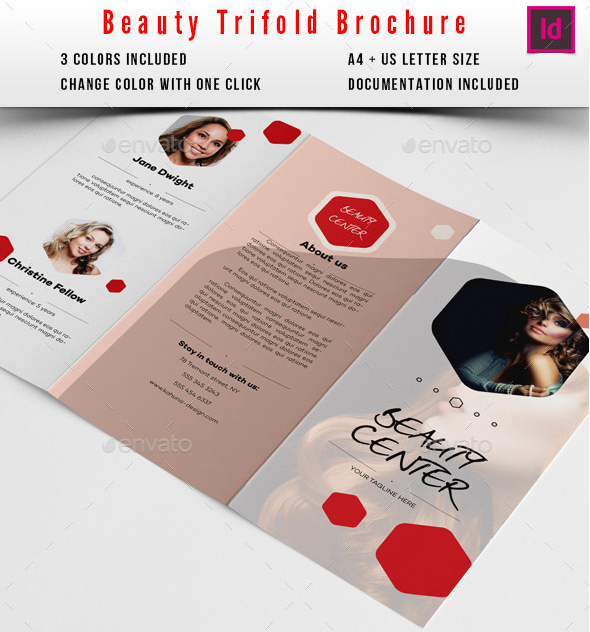 beauty salon brochure template - 20 beauty salon brochure templates design blog