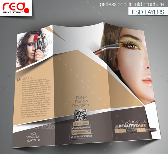 salon brochure templates - 20 beauty salon brochure templates design blog