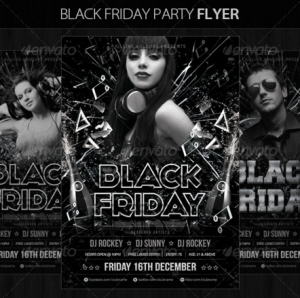 Black Friday Party Flyer15