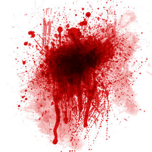 Blood Splatter Texture