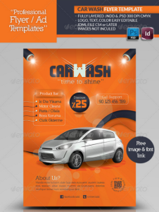 Car Wash Flyer Template10