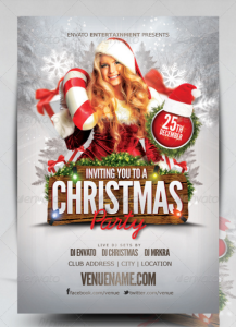 Christmas Flyer Template17