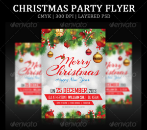 Christmas Party Flyer19