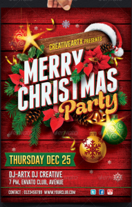 Christmas Party Flyer6