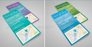 Clean Corporate : Dental Clinic Trifold Brochure